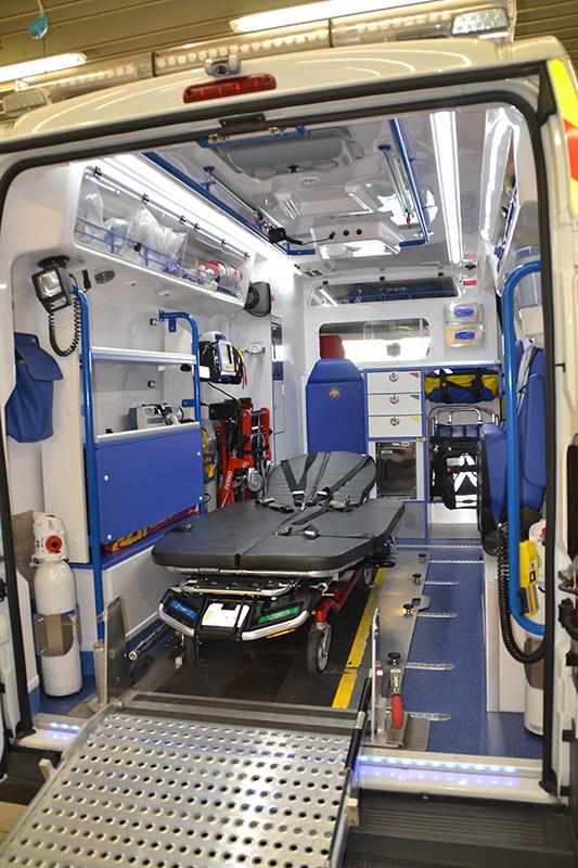 Ambulances spécifiques bariatriques