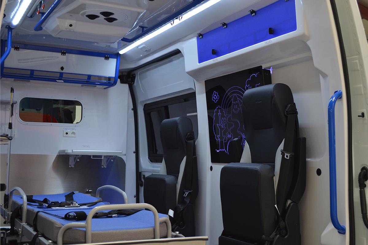 Ambulances spécifiques pédiatriques