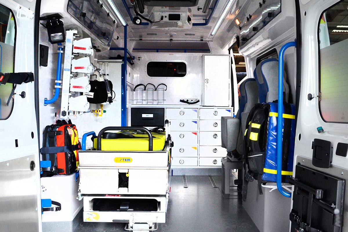 Aménagement Ambulances de type C