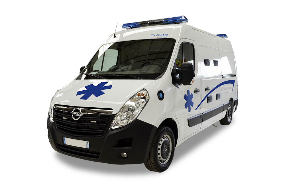 ambulance l2h2 opel movano am nag e par petit by gruau. Black Bedroom Furniture Sets. Home Design Ideas