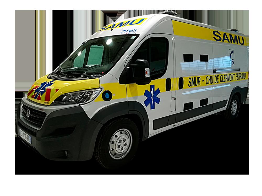 Ambulances de type C