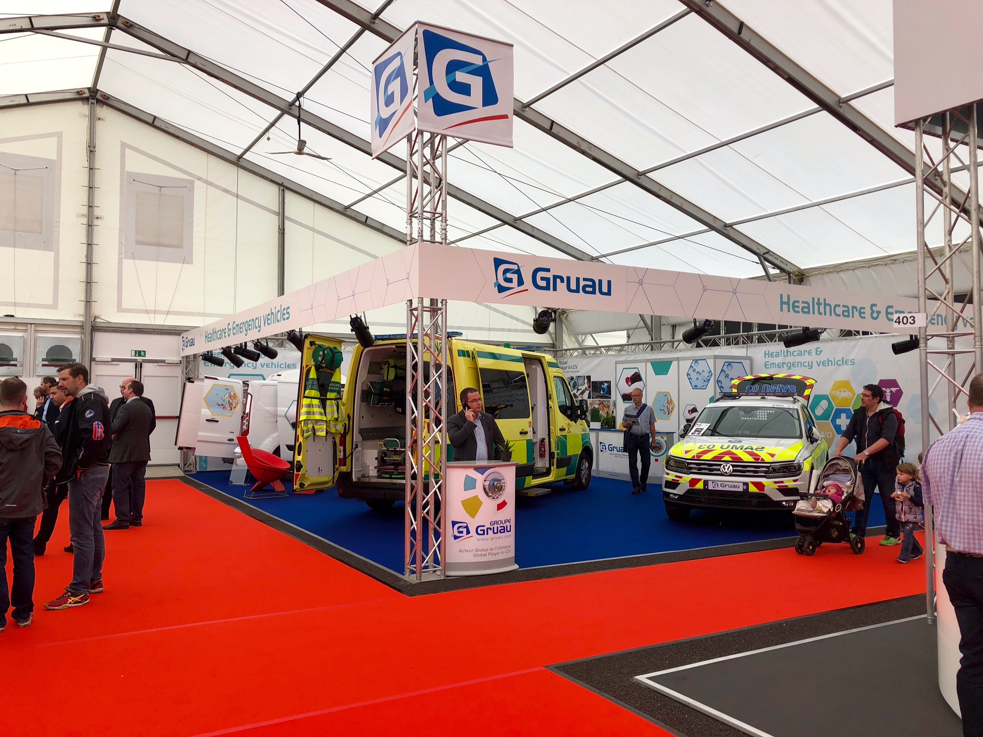Le sp cialiste des ambulances made in france petit picot for Salon made in france 2018