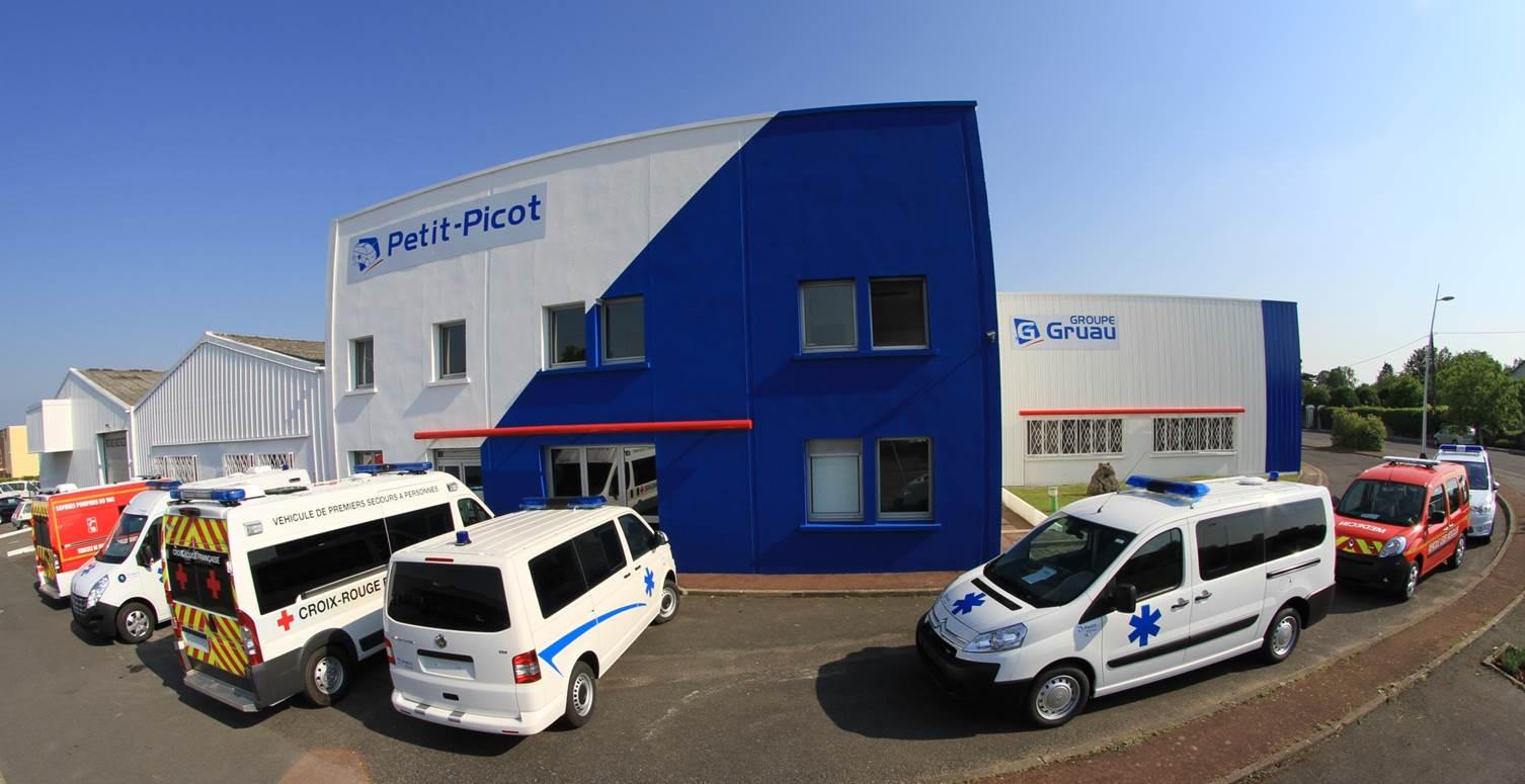 Présentation de la gamme d'ambulances Petit-Picot