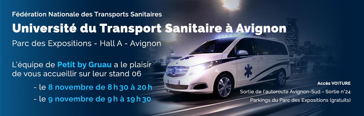 Petit Picot à l'Université du Transport Sanitaire à Avignon