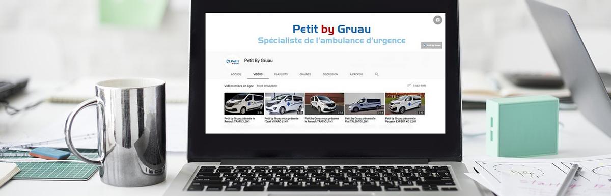 Découvrez nos ambulances en vidéo sur Youtube